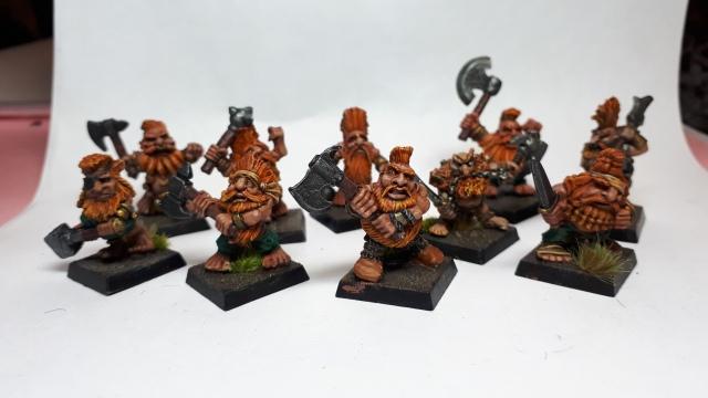 10 oldhammer marauder dwarf slayers