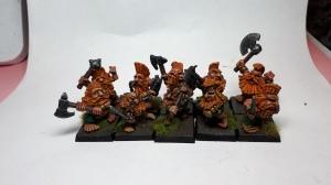 10 Citadel Marauder Miniatures Dwarf Slayers