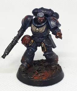 Crimson Fist sergeant Pointing