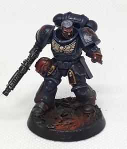 Crimson Fist sergeant Pointing
