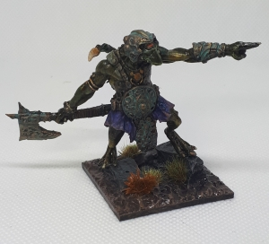 Krakon Games Fomor Fimir King Painted Pointing