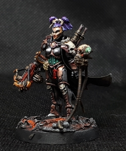 Inquisitor Greyfax Conversion right side view