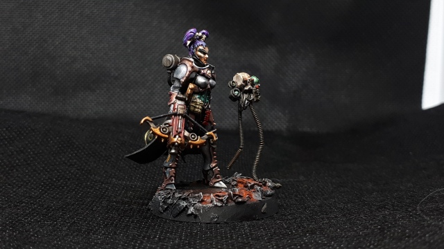 Inquisitor Greyfax conversion