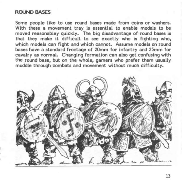 The use of round bases in warhammer is legit and always has been