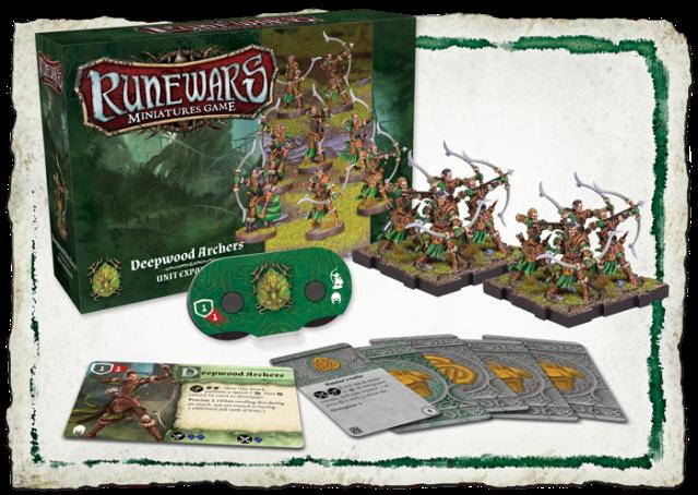 Runewars Deepwood Archers complete contents