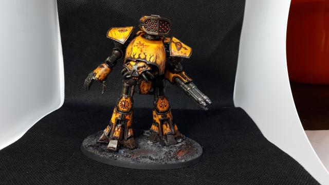 Legio Fureans Tiger Eyes Traitor Titan Reaver