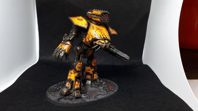 Tiger Eyes Legio Fureans Reaver Titan