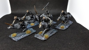 5 Mithril miniatures Warg Riders