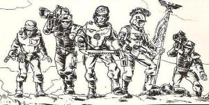 Command Squad Illustration