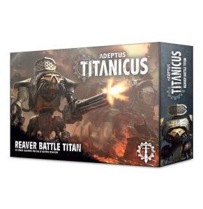 Adeptus Titanicus 2018 Reaver Titan Box Art