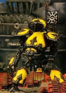 Citadel Miniatures Tiger Eyes Reaver Titan Model