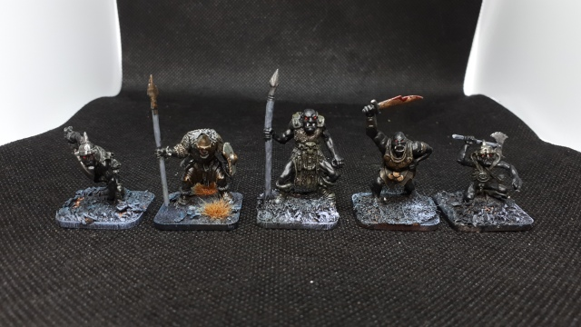 various orcs for comparison purposes