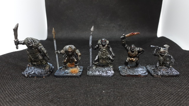 5 orcs for comparison purposes