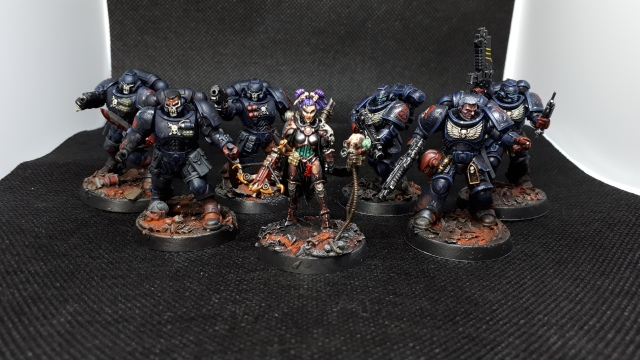 Crimson Fist Intercessors, Reivers + Inquisitor