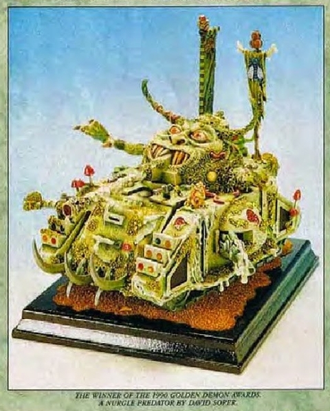 Nurgle Predator Conversion David Soper 1990 Golden Demon Winner