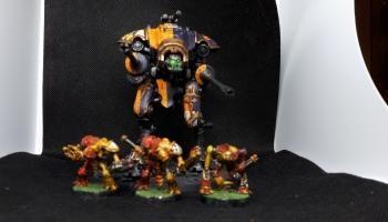 Return to Paramar V: Tiger Eyes Traitor Reaver Titan