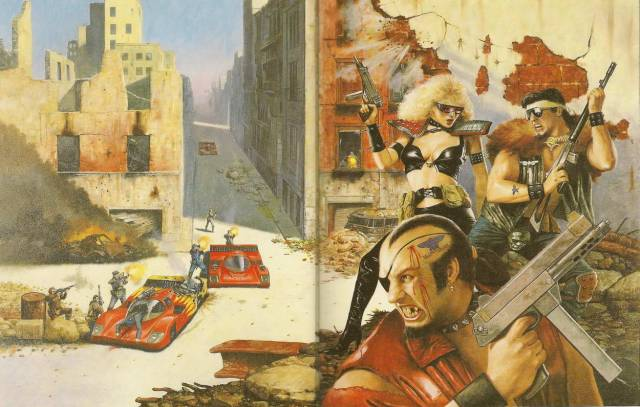 Dark Future Skirmish - Les Edwards