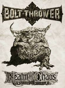 Bolt Thrower flyer feat. Great Unclean One art