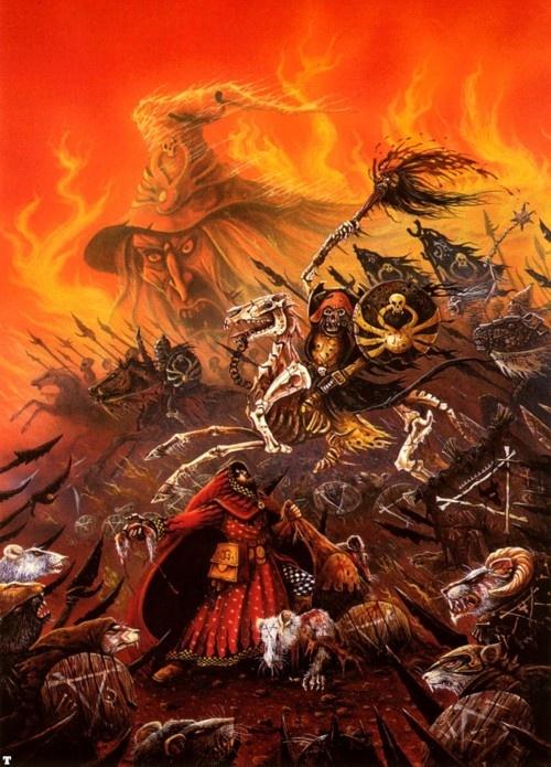 Terror of the Lichemaster - John Blanche
