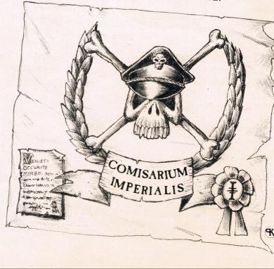 Commissar Training Squad Banner
