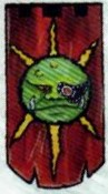 Space Ork Glortian Battle Banner, Chapter Approved 1988