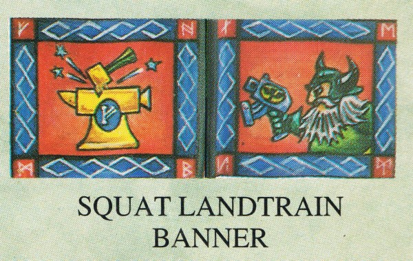 Squat Land Train