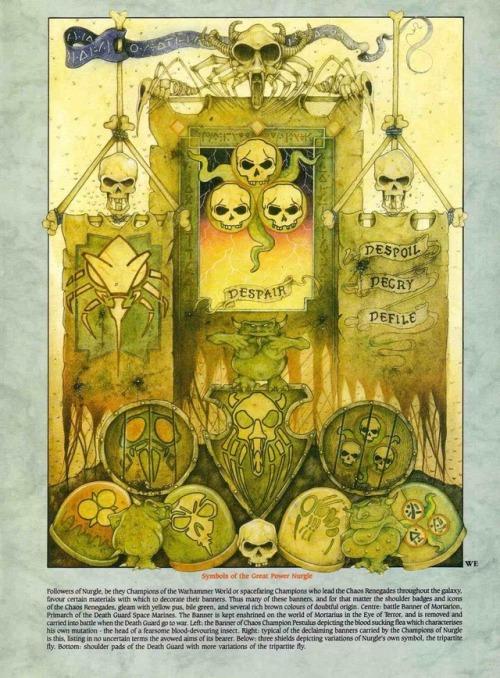 Symbols of Nurgle