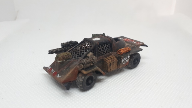 Maniax Renegade Car, Dark Future, Games Workshop Side Right