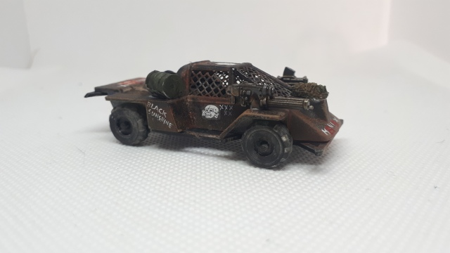 Maniax Renegade Car, Dark Future, Games Workshop Side Left