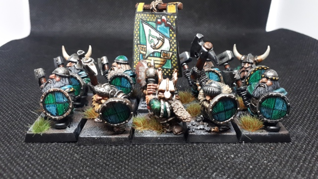 Lead Mountain Widow River Dwarf Unit Front