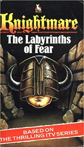 Cover for Knightmare: Labyrinth of Fear Adventure book