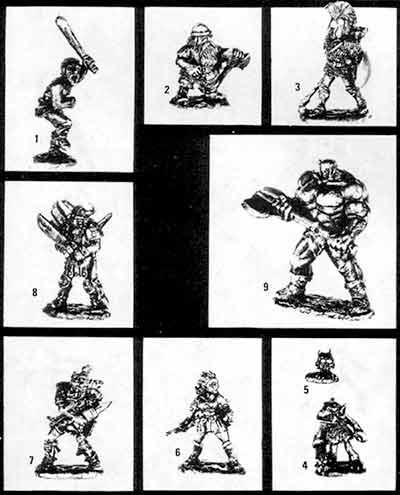 SS6 White Dwarf Personalities Box Set Contents