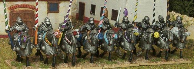 Casting Room Games 9 German Renaissance Knights 28mm