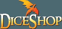 Dice Shop Online Dragon Logo