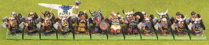 PBS3 Dwarf Regiment from Warhammer Fantasy Battles