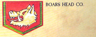 Boar's Head, Company (Squat), Chapter Approved, 1988