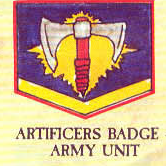 Artificers Badge, Imperial Army, Chapter Approved, 1988