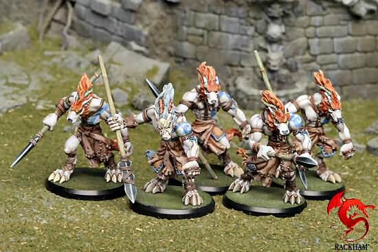 Wolfen Hunters, Rackham Miniatures