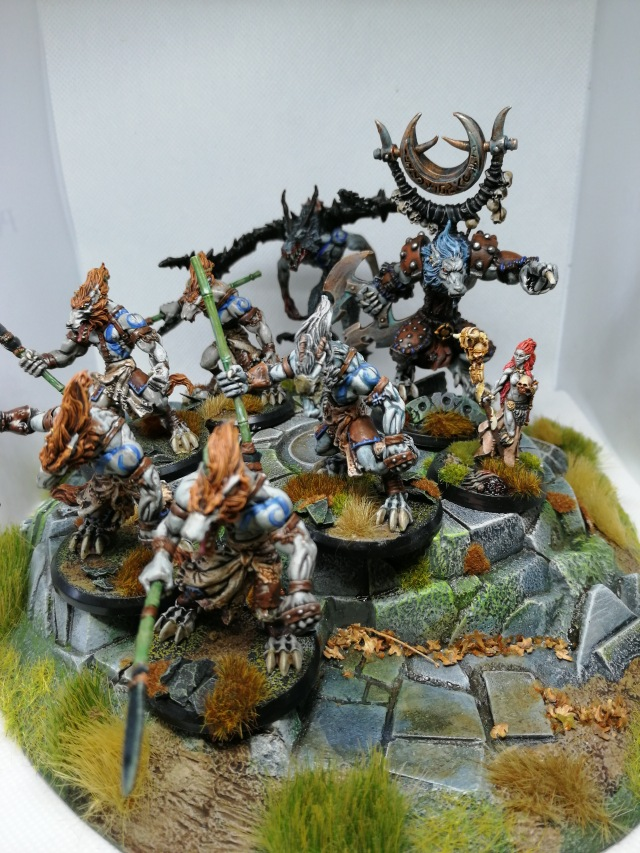 Wolfen Hunters, Killyox, Azura half-blood & Wolf Demon group shot