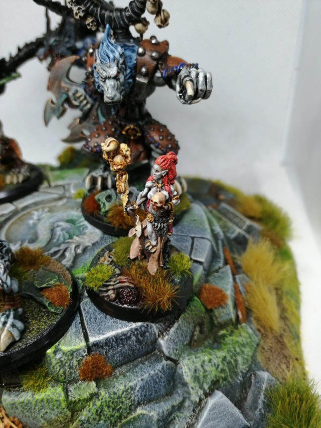 Hasslefree Miniatures 'Azura Half-blood' painted by Lead Mountain Widow