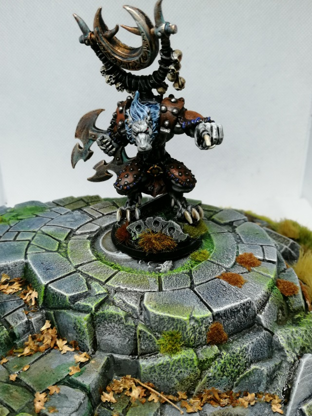 Rackham Killyox miniature, painted by Lead Mountain Widow